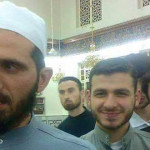 الشيخ رياض الخرقي مع طلابه